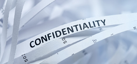Explain how and when to seek advice about confidentiality