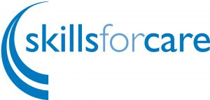 Skills for Care Logo (Aspiring Managers)
