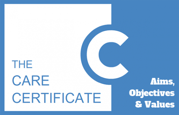 Aims, obkectives & values - Care Certificate