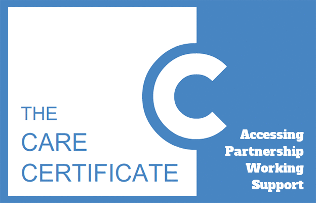 Accessing Partnership Working Support - Care Certificate
