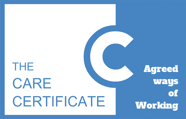 Agreed Ways of Working - Care Certificate