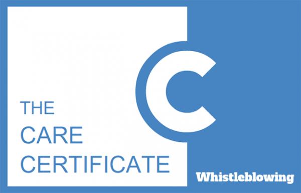 Whistleblowing - Care Certificate