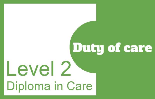 Duty of care - Level 2 Diploma in Care