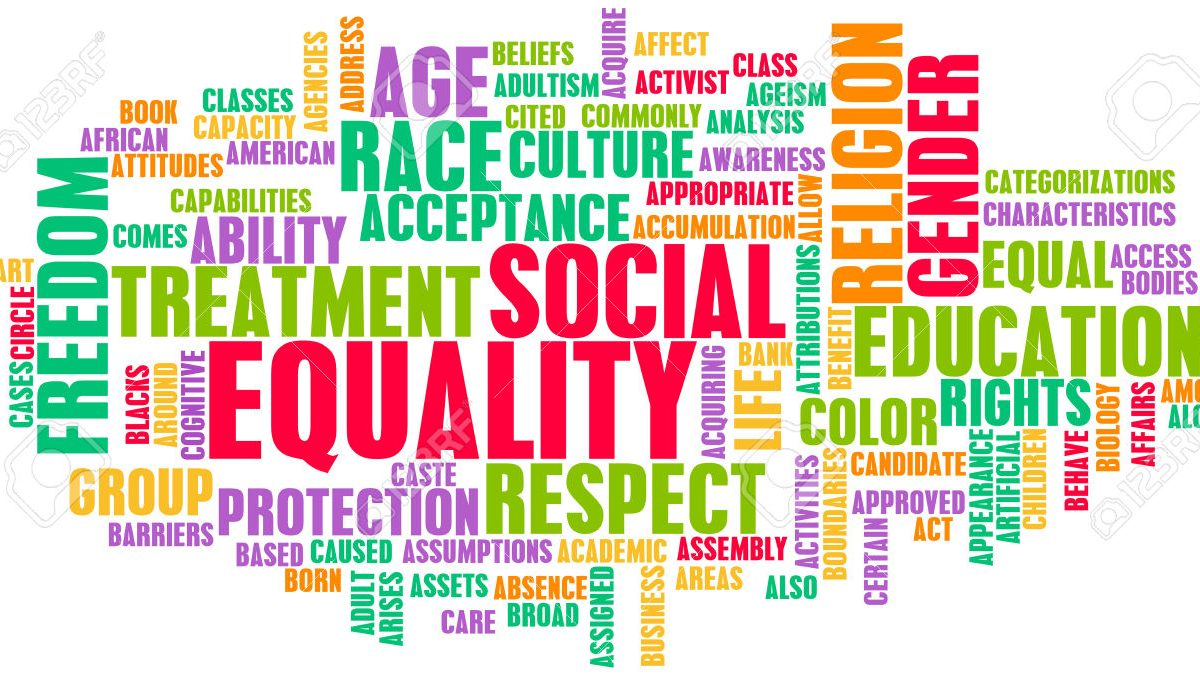 Equality Word Cloud