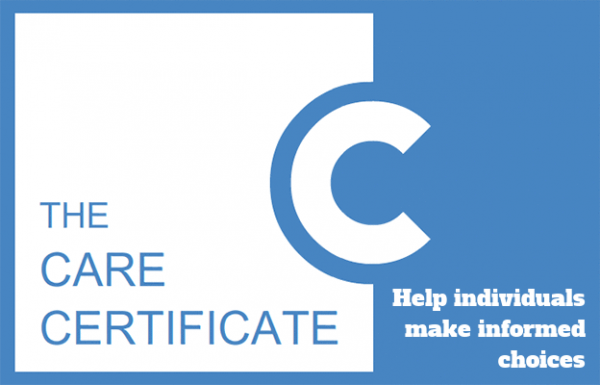 Help individuals make informed choices The Care Certificate