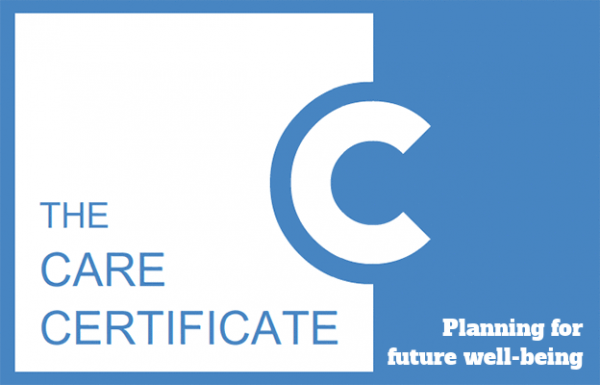 Planning for future well-being - The Care Certificate