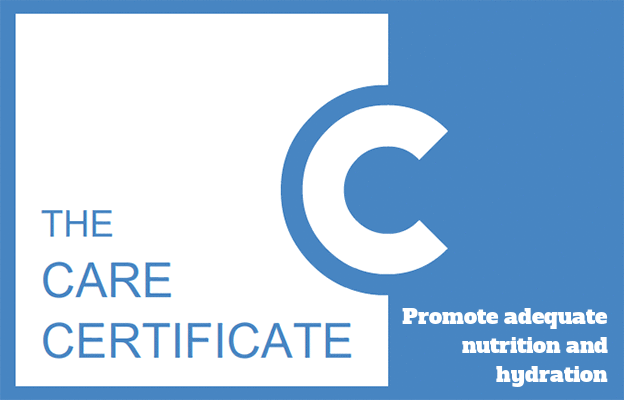 Promote adequate nutrition and hydration - The Care Certificate