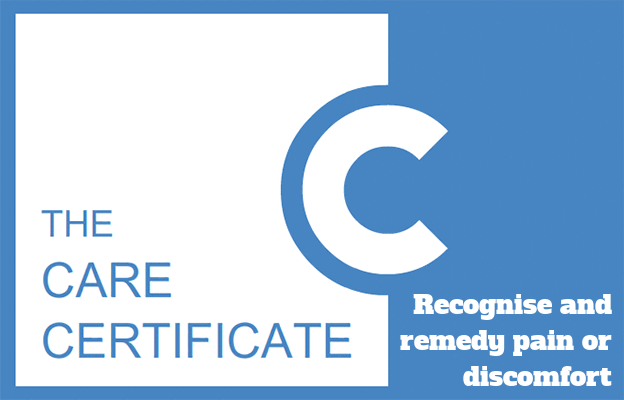 Recognise and remedy pain or discomfort - The Care Certificate