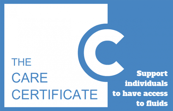 Support individuals to have access to fluids - The Care Certificate