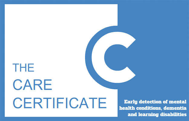 Early detection of mental health conditions, dementia and learning disabilities - The Care Certificate