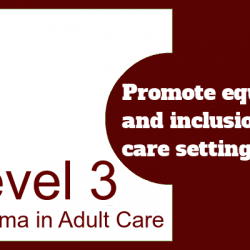 Promote Equality and Inclusion in Care Settings