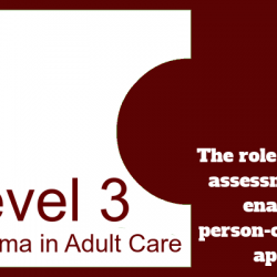 Understand the role of risk assessment in enabling a person-centred approach