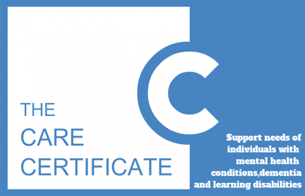 Support needs for individuals mental health conditions, dementia and learning disabilities - The Care Certificate