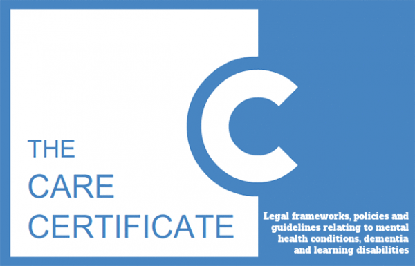 Legal frameworks, policies and guidelines relating to mental health conditions, dementia and learning disabilities - The Care Certificate