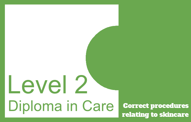 Correct procedures relating to skincare - Level 2 Diploma in Care