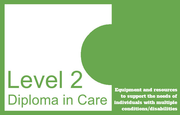 Equipment and resources to support the needs of individuals with multiple conditions/disabilities - Level 2 Diploma in Care