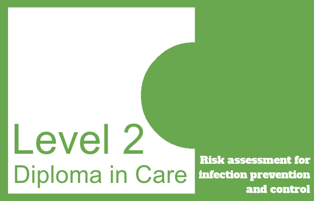 Risk assessment for infection prevention and control - Level 2 Diploma in Care