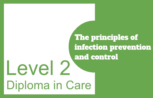 The principles of infection prevention and control - Level 2 Diploma in Care