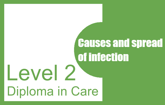 Causes and spread of infection - Level 2 Diploma in Care