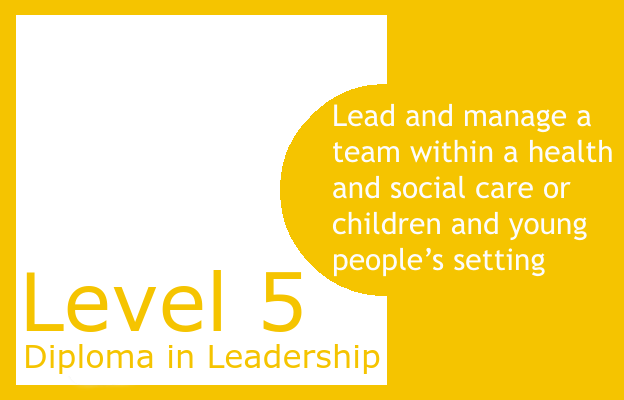 Lead and manage a team within a health and social care or children and young people's setting - Level 5 Diploma