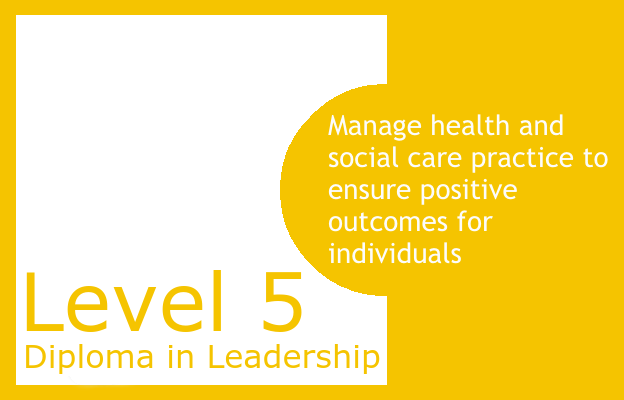 Manage health and social care practice to ensure positive outcomes for individuals - Level 5 Diploma