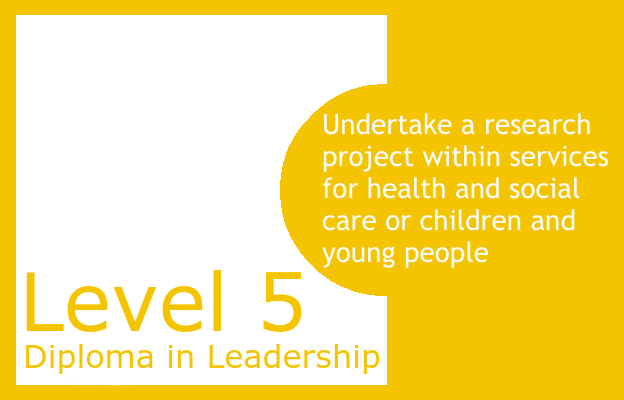 Undertake a research project within services for health and social care or children and young people - Level 5 Diploma