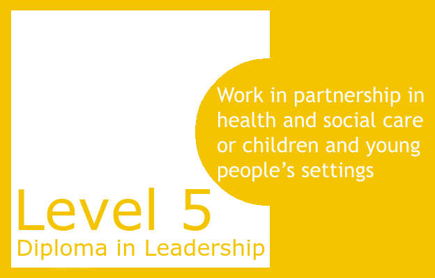 Work in partnership in health and social care or children and young people's settings - Level 5 Diploma