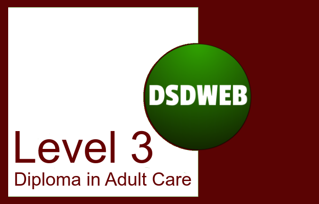 Level 3 Diploma in Adult Care - DSDWEB
