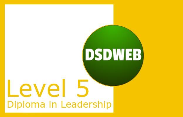 Level 5 Diploma in Leadership - DSDWEB
