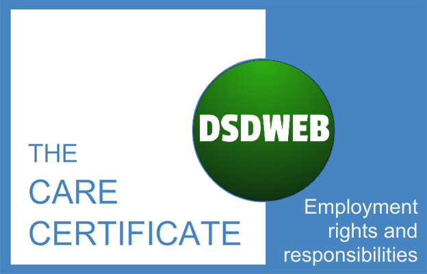 Employment rights and responsibilities - Care Certificate - DSDWEB.