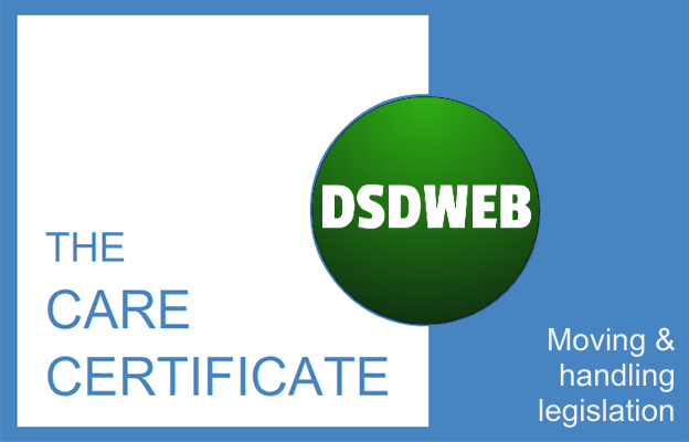 Moving and handling legislation - Care Certificate - DSDWEB.
