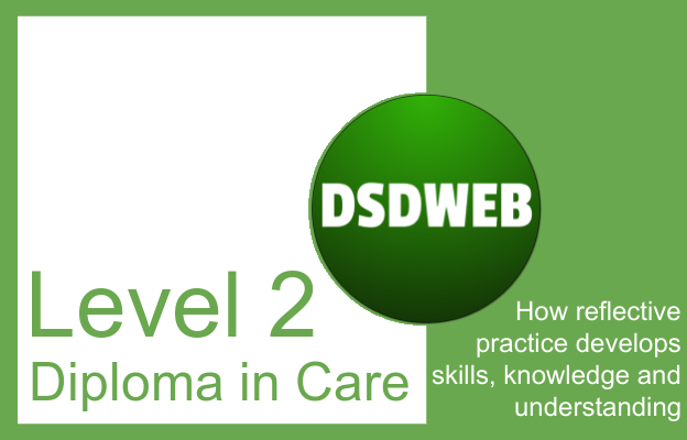 How reflective practice develops skills, knowledge and understanding - Level 2 Diploma in Care - DSDWEB.