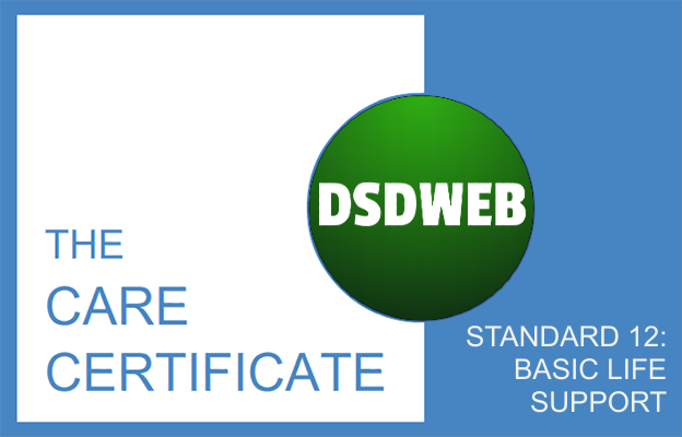 Standard 12: Basic Life Support - Care Certificate - DSDWEB.